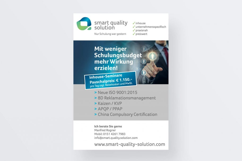 Flyer smart quality solution